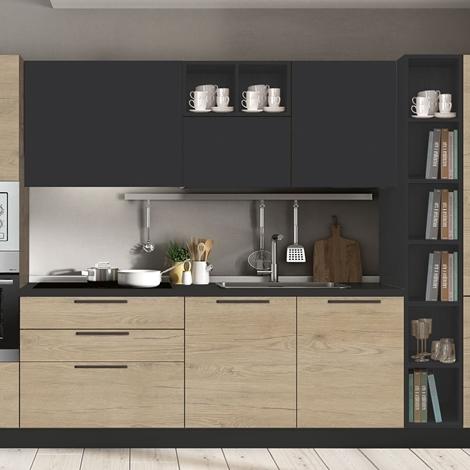Cucina con elettrodomestici fine serie cucine a prezzi - Disposizione elettrodomestici cucina ...