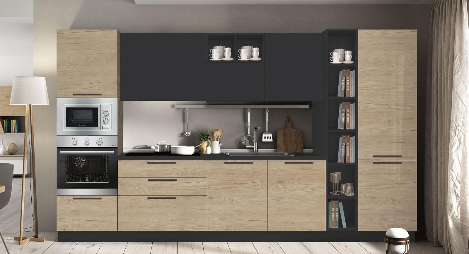 Cucina con elettrodomestici fine serie cucine a prezzi - Elettrodomestici cucina ...