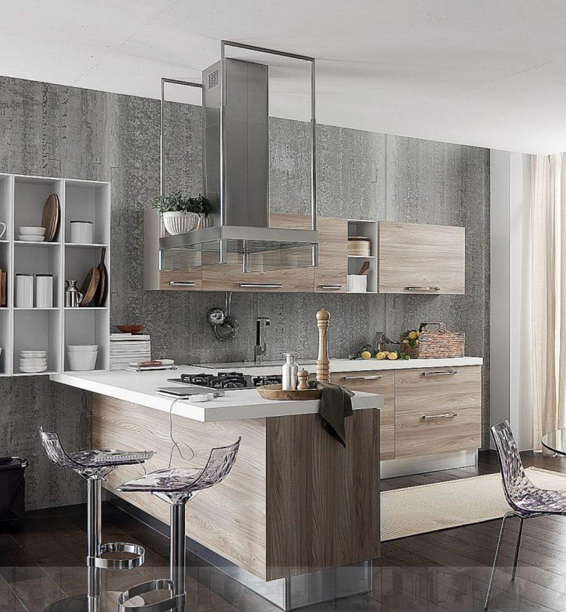 Cucina con gola in laminato 3d cucine a prezzi scontati - Anta cucina laminato ...