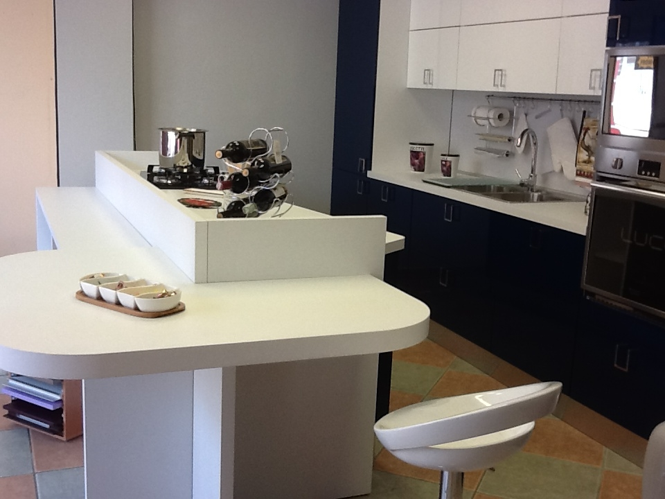Cucine a vista con bancone cucine open space con penisola - Cucine a vista ...
