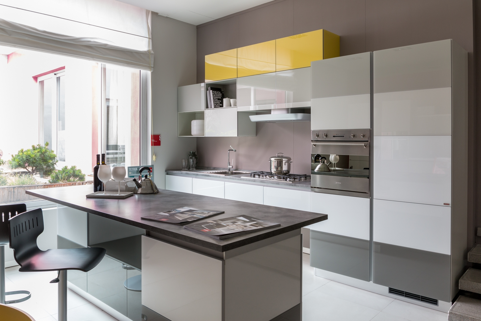 Piccole Cucine Moderne. Awesome Cucine Bianche E Minimali Top With ...