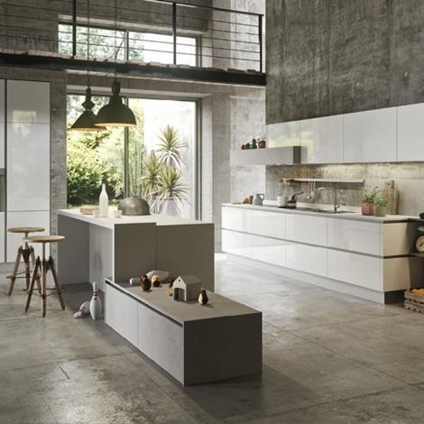 Cucina con isola nuova scontata di modello my for Cucina nuova prezzi
