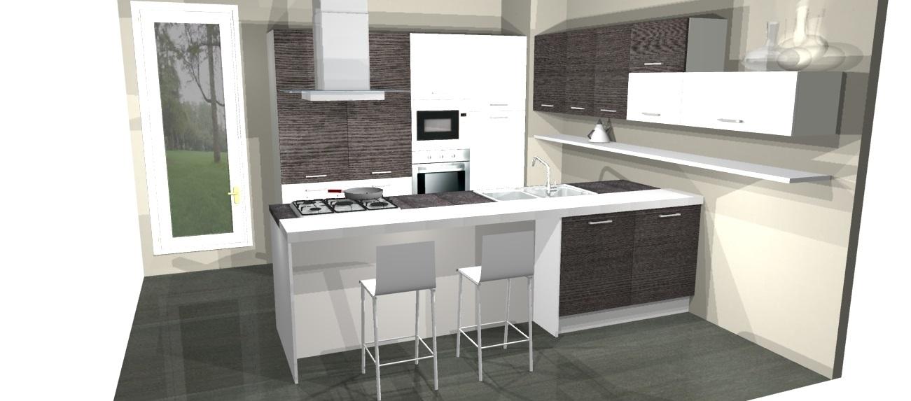 Cucine Moderne Ad Angolo Con Isola ~ Idea Creativa Della Casa e Dell ...