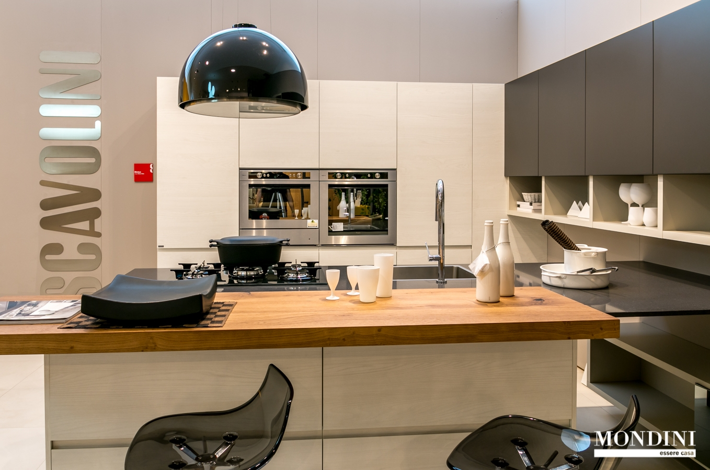 Cucina con isola scavolini modello motus scontata del 41 - Cucine con soggiorno ...