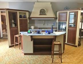 Cucina con isola Zappalorto scontata del 50%