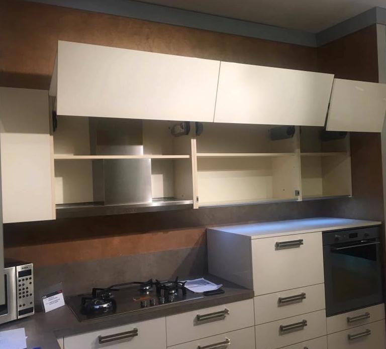 cucina con led ed elettrodomestici fine produzione - Cucine a prezzi ...