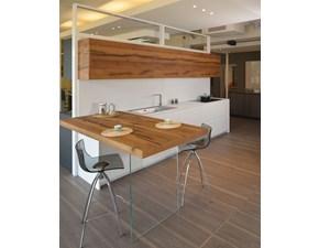 Cucina con penisola 3.1 Board Copatlife a prezzo outlet