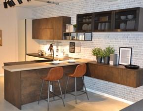 Cucina con penisola Agora' Evo cucine con uno sconto del 75%