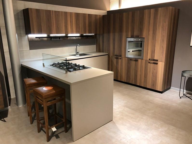 Cucina con penisola arrital cucine scontata del 50 for Zanotto arredamenti