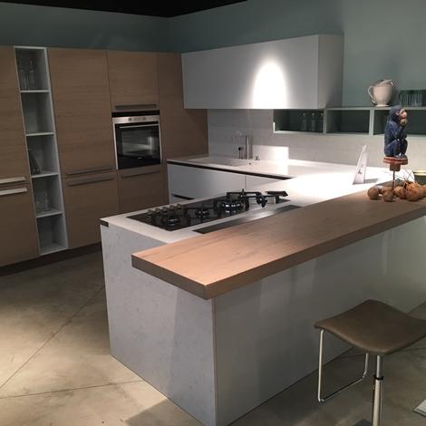 outlet Cucina con penisola Arrital Cucine scontata del 55%