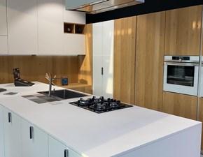 Cucina con penisola design 1g Artigianale a prezzo ribassato