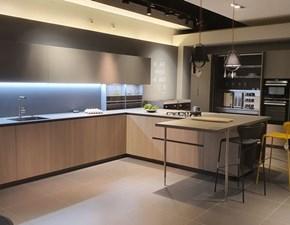 Cucina con penisola design Ak project anta step Arrital a prezzo scontato