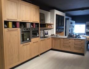 Cucina con penisola design Asi Artigianale a prezzo ribassato