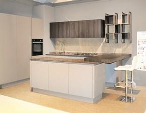 Cucina con penisola design B50 Berloni cucine a prezzo ribassato
