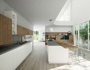 Cucina con penisola design * sharon Zecchinon a prezzo ribassato