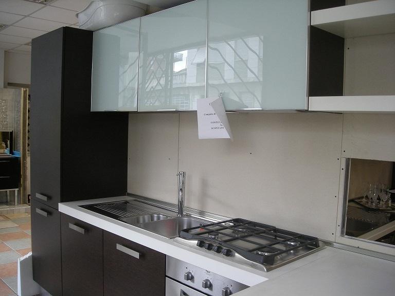 Cucina con penisola in offerta cucine a prezzi scontati - Cucine con frigo a vista ...