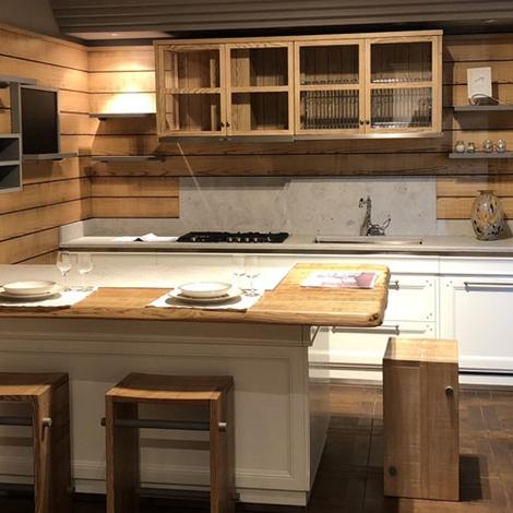 Cucina con penisola living l 39 ottocento cucine a prezzi for Cucine living prezzi
