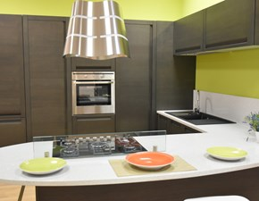 cucina con top quarzo starlight