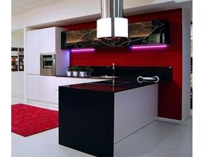Cucina con penisola moderna Arcobaleno Ar-due a prezzo scontato