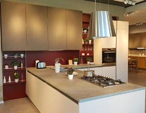 Cucina con penisola moderna Cv 619 start Prezioso a prezzo ribassato