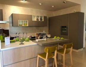 Cucina con penisola moderna Grafica scratch Valdesign a prezzo scontato