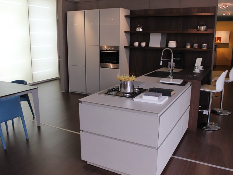 cucina con penisola moderna vladesign mod forty5 free
