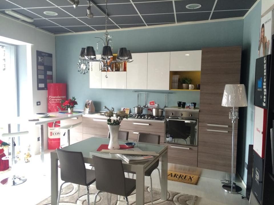 Cucina con penisola moderna cucine a prezzi scontati - Penisola cucina moderna ...