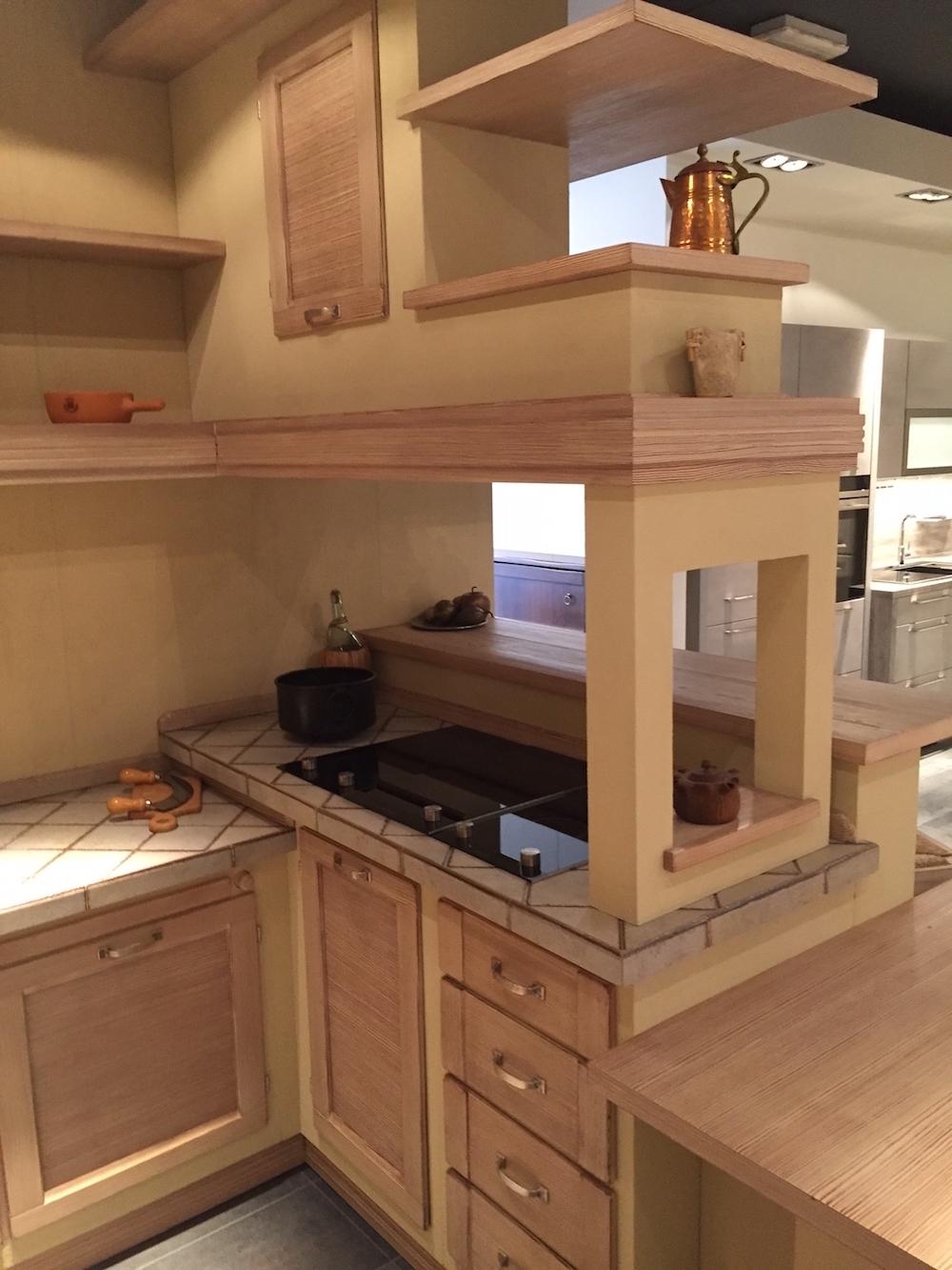 Cucine con penisola centrale decorazioni per la casa for Cucine classiche con isola centrale