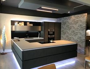 Cucina con penisola Stone art Artigianale con un ribasso del 40%