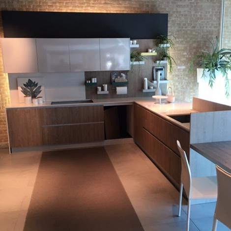 Cucina con penisola zecchinon cucine di esposizione - Cucine esposizione outlet ...