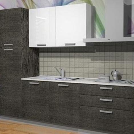 Cucina con piano in quarzo cucine a prezzi scontati - Piano di lavoro cucina in quarzo ...