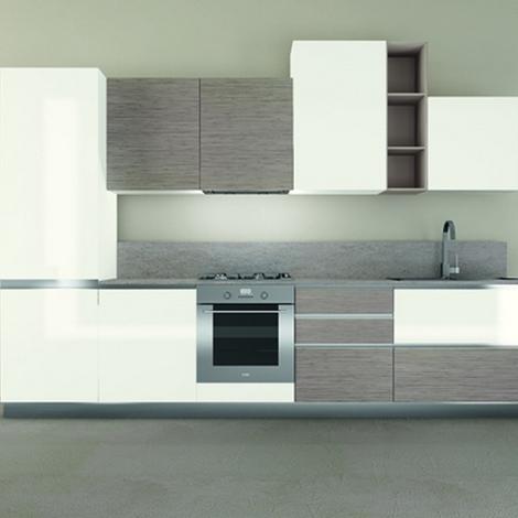 Cucina modello iride con top in quarzo cucine a prezzi - Top cucina quarzo prezzi ...