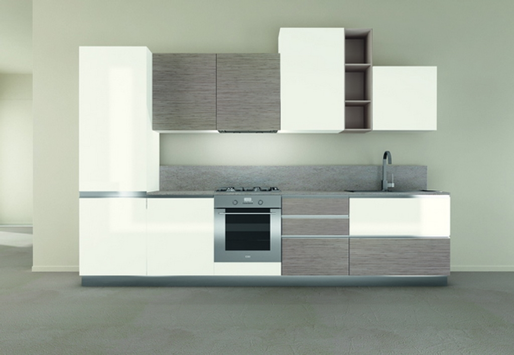 Cucina modello iride con top in quarzo cucine a prezzi - Top per cucine in quarzo ...