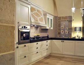 Cucina contemporanea Md. Giulia bianca con penisola