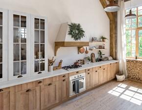 Cucina country altri colori Artigianale lineare Mobilike chloe in Offerta Outlet