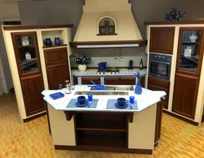 Cucina country blu Zappalorto ad isola Cucina blu  scontata