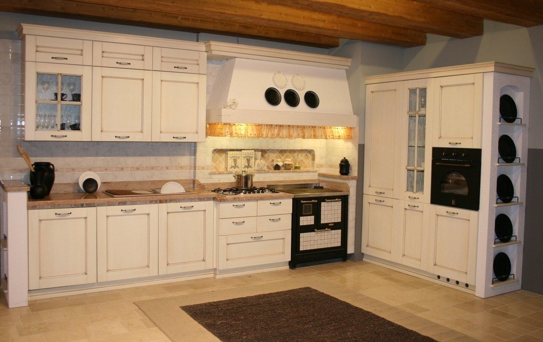 Cucina country in legno cucine a prezzi scontati - Blocco cucina prezzi ...