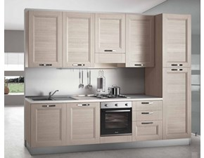 Outlet cucine country prezzi sconti online 50 60 for Cucina lineare 3 metri