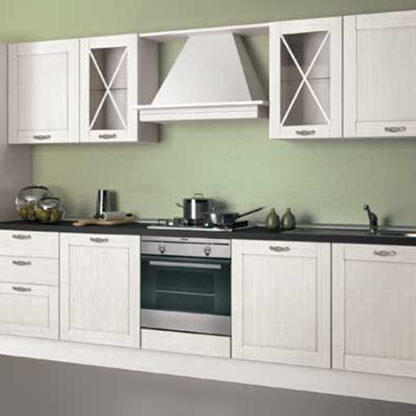 Cucina creo kitchens vivian classica legno bianca cucine - Cucina bianca legno ...