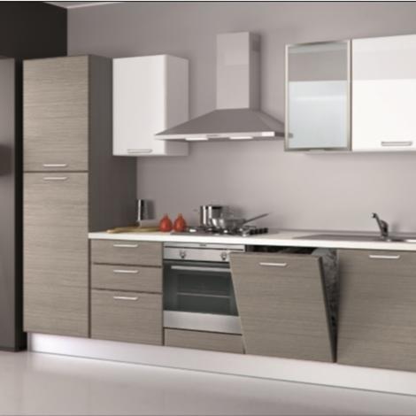 Cucina Creo Kitchens Britt Moderna Polimerico Opaco grigio ...