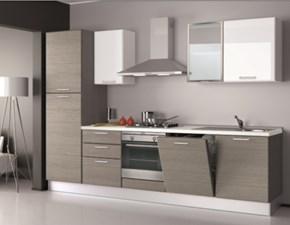 Cucina Creo Kitchens Britt Moderna Polimerico Opaco grigio
