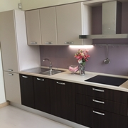 Cucina Creo Kitchens Britt olmo cotto l.360 Moderna Polimerico Opaco