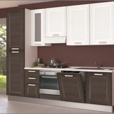 Cucina Creo Kitchens Lube mya anta a telaio l.285 Moderna Laminato Materico r...
