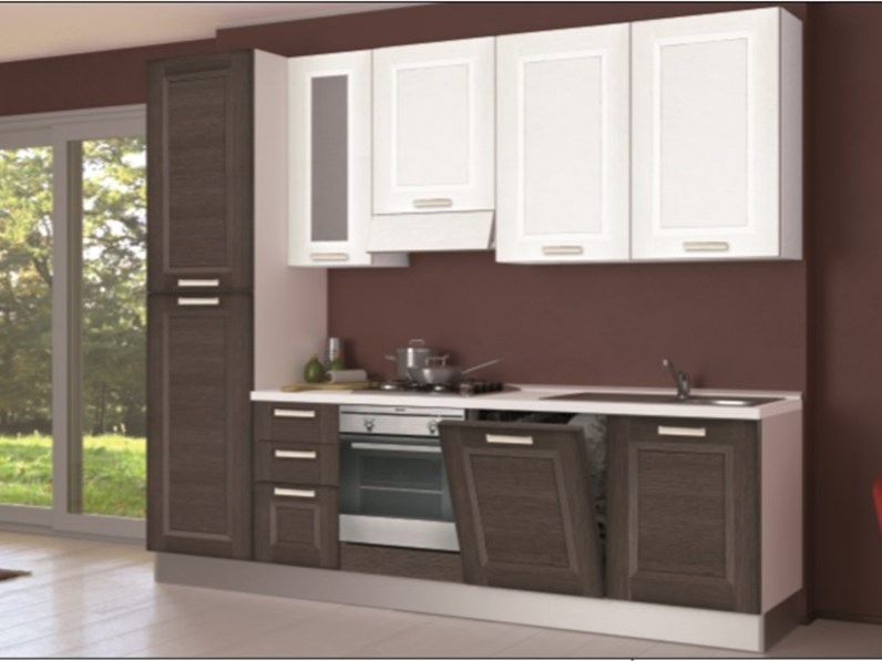 Cucina creo kitchens lube mya anta a telaio moderna - Anta cucina laminato ...