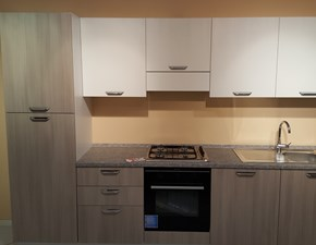 Cucina Creo kitchens moderna lineare  laminato materico Alma