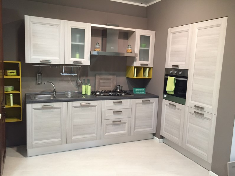 Cucina creo kitchens mya moderno laminato materico larice - Top cucina laminato opinioni ...