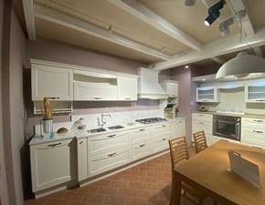 Cucina Creo kitchens provenzale lineare bianca in laccata Aurea