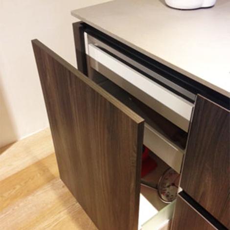 Cucina cubodesign sincro wood scontato del 50 cucine for Arredamento design scontato