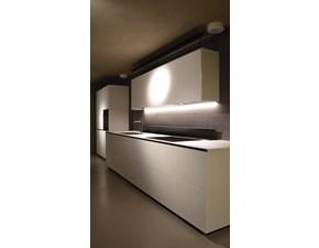 Cucina Cucina artematica design bianca lineare Valcucine