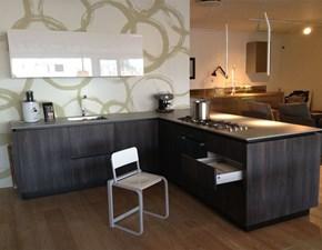 Cucina Cucina cubo design sincro wood angolare con penisola. moderna altri colori con penisola Cubodesign